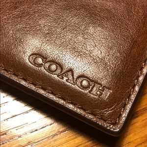 Coach Cardholder with money clip